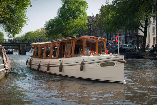 Hotel Pulitzers' privately owned boat 'the Tourist'